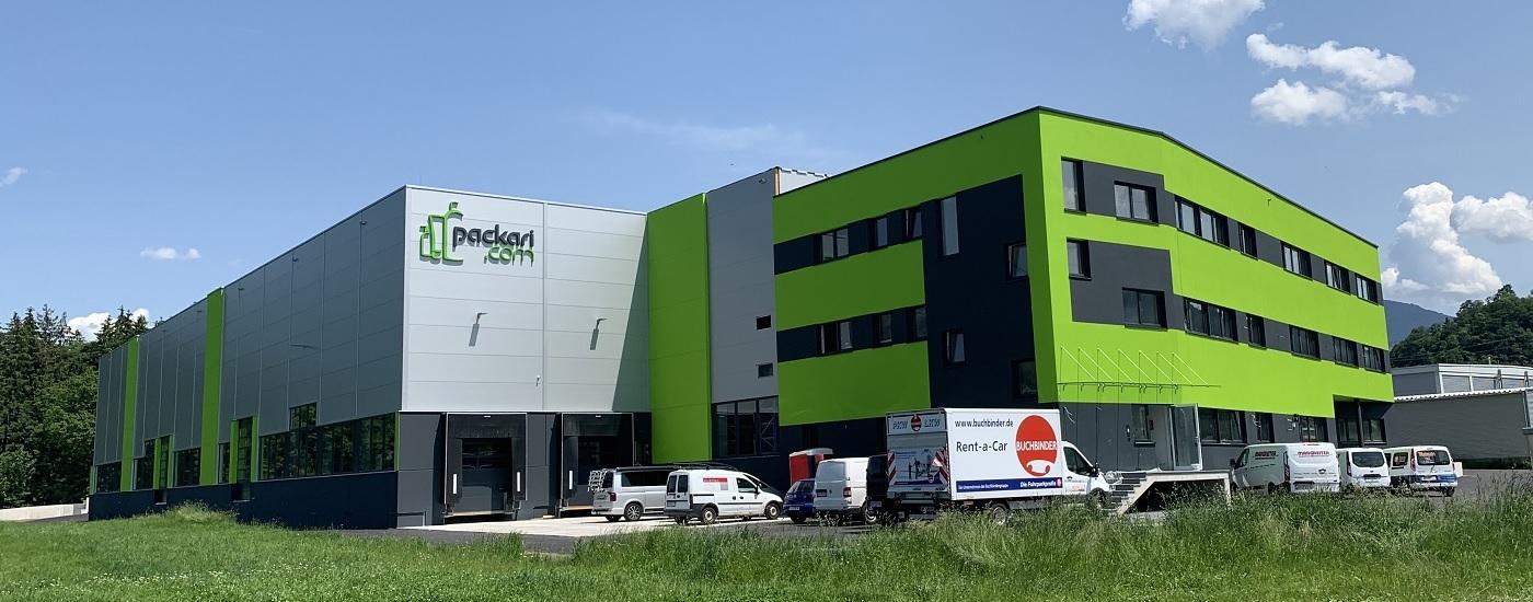 TopEnergy-Wärmepumpe für Gewerbegebäude fertiggestellt
