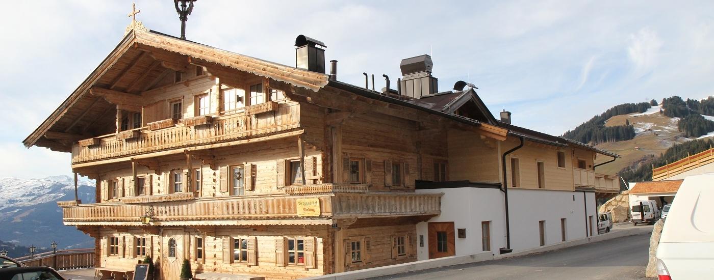 Berggasthof Nieding – Wärmepumpe auf 1100m Seehöhe